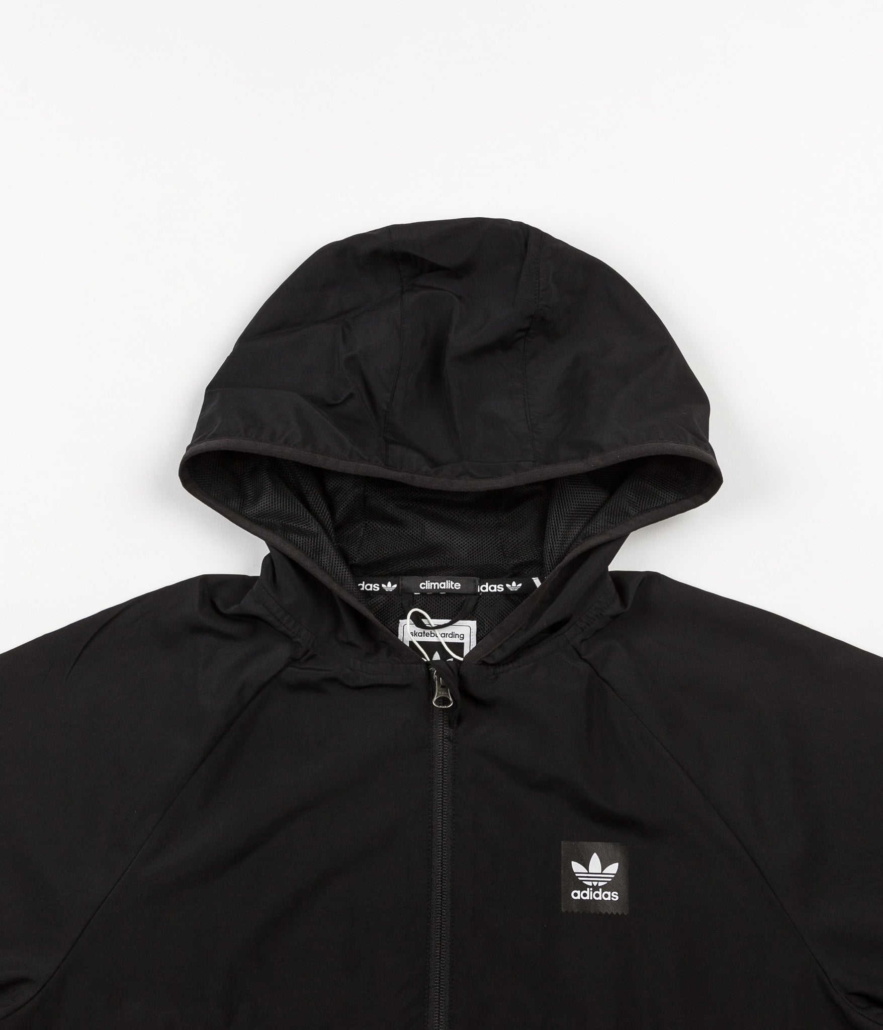 premium selection a0026 d544a Adidas Blackbird Windbreaker Jacket - Black   Carbon ...
