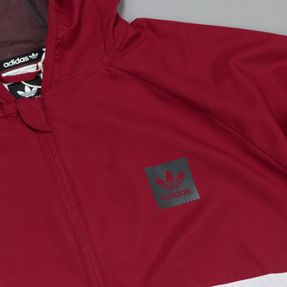Adidas Blackbird Windbreaker Jacket - Collegiate Burgundy
