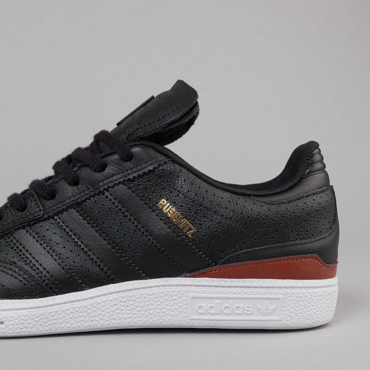 Adidas Busenitz Classified Shoes - Color Core Black / St Redwood F13 / FTWR White