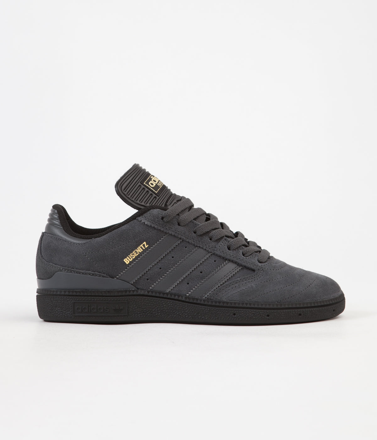 newest 56382 c06fa ... Adidas Busenitz Pro Shoes - Core Black  Solid Grey  Gold Foil ...
