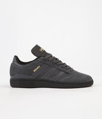 Adidas Busenitz Pro Shoes - Core Black / Solid Grey / Gold Foil