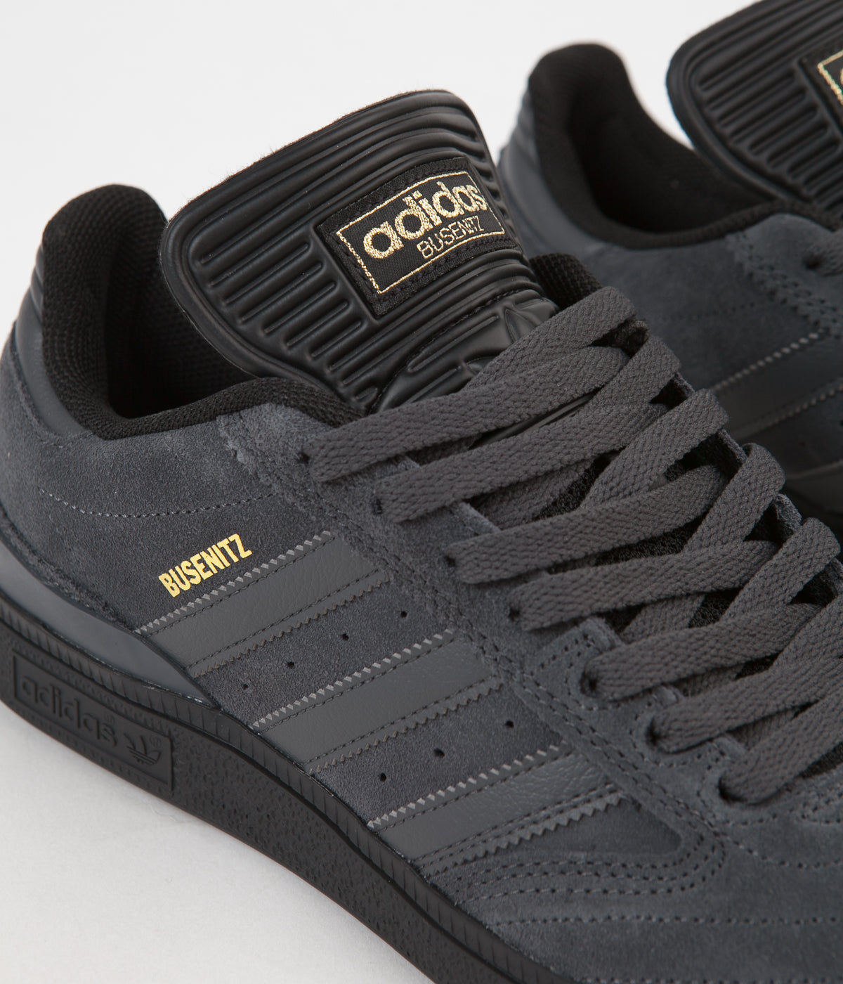 Adidas Busenitz Pro Shoes Core Black Solid Grey Gold