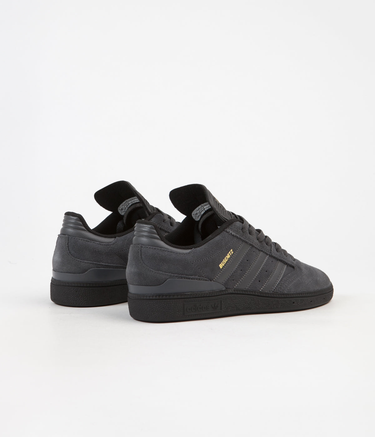 newest b49b9 4d471 ... Adidas Busenitz Pro Shoes - Core Black  Solid Grey  Gold Foil ...