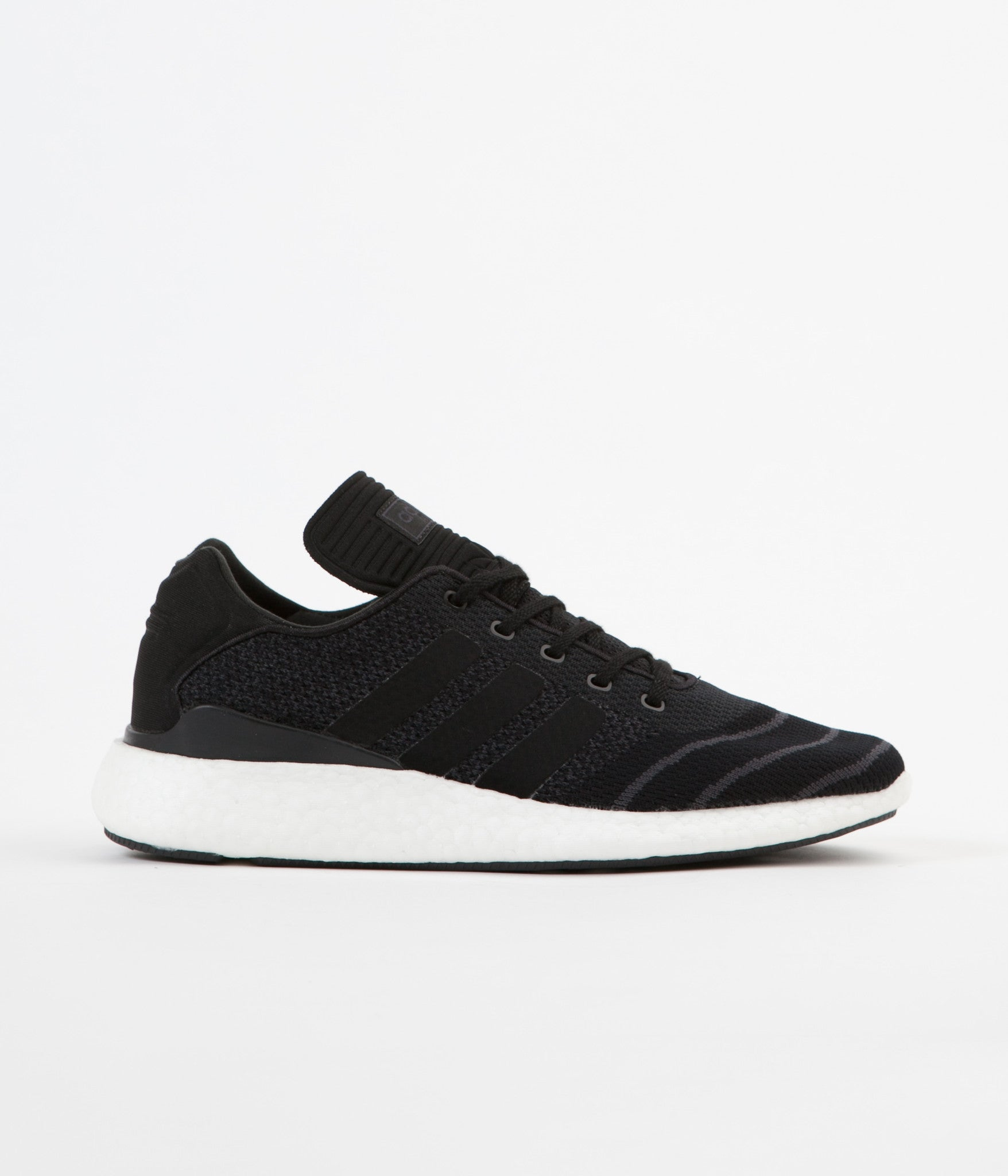 Adidas Busenitz Pure Boost Shoes - Core Black / Core Black / White