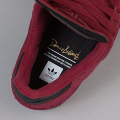Adidas Busenitz Shoes - Collegiate Burgundy / Core Black / Gold Foil