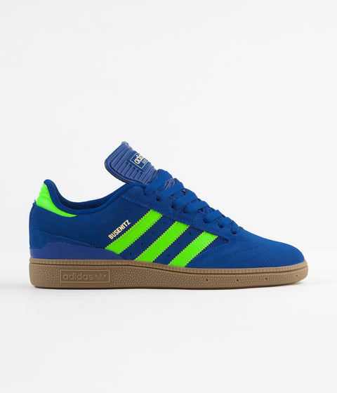 Adidas Busenitz Shoes - Collegiate Royal / Solar Green / Gum4