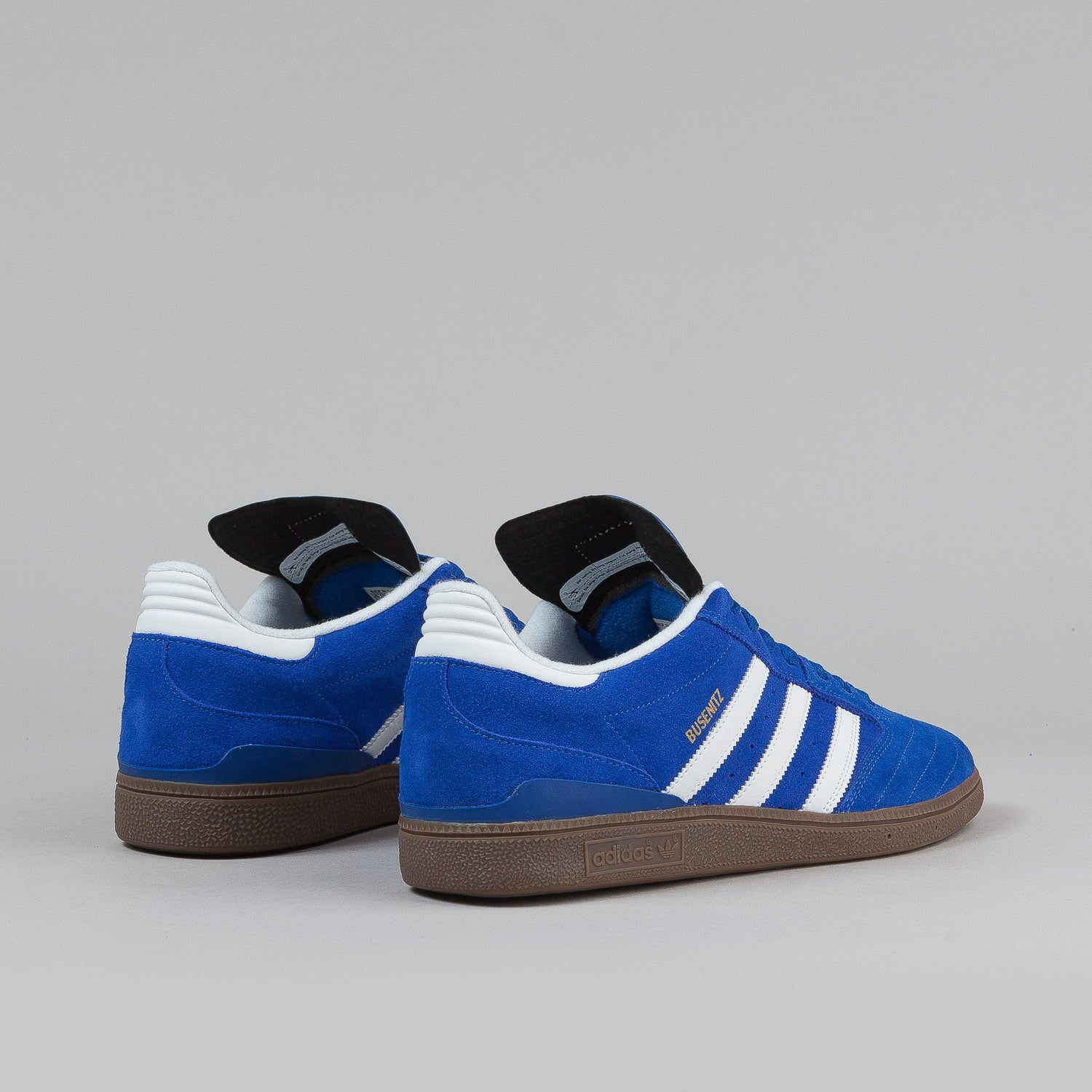 Adidas Busenitz Shoes - True Blue / White / Metallic Gold