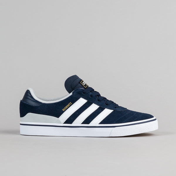 Adidas Busenitz Vulc ADV Shoes - Collegiate Navy / Solid Grey / White