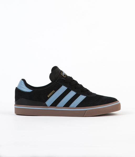 Adidas Busenitz Vulc ADV Shoes - Core Black / Tactile Blue / Gum5