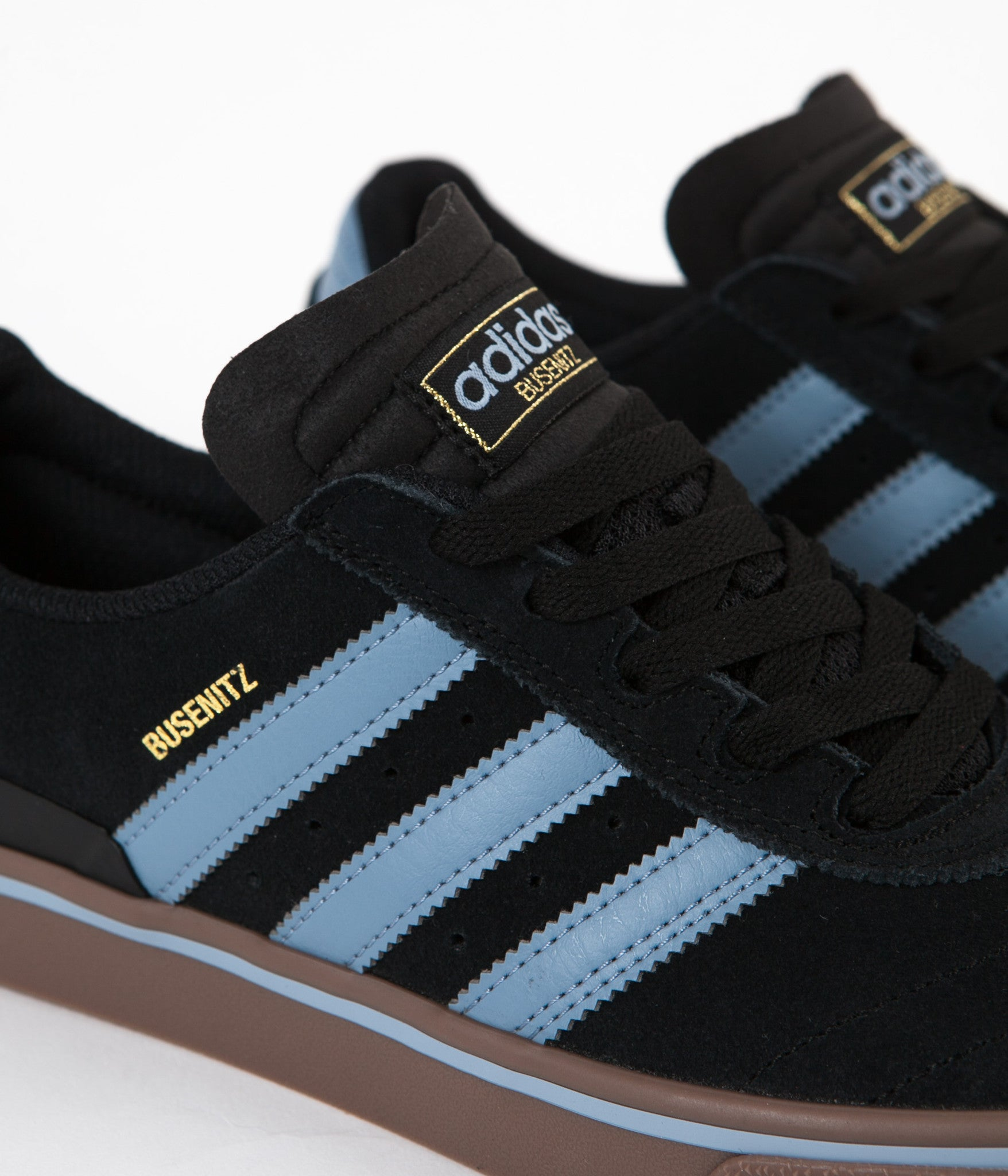 hot sale online 5941c 3a88b ... Adidas Busenitz Vulc ADV Shoes - Core Black  Tactile Blue  Gum5 ...