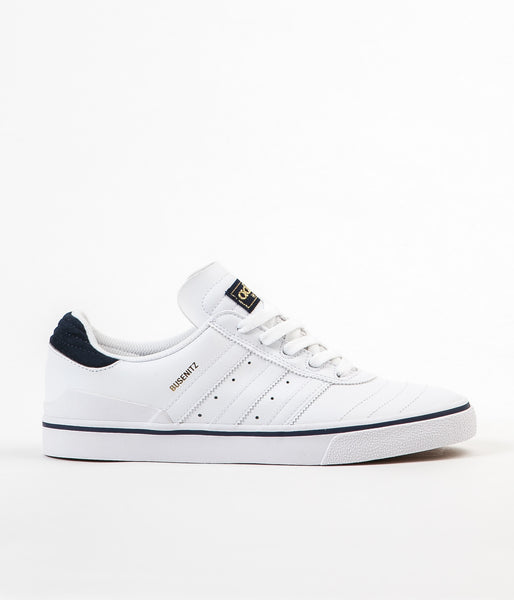 Adidas Busenitz Vulc Adv Shoes - White / Collegiate Navy / White