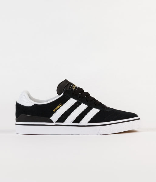 Adidas Busenitz Vulc Shoes - Black / Running White / Black | Flatspot