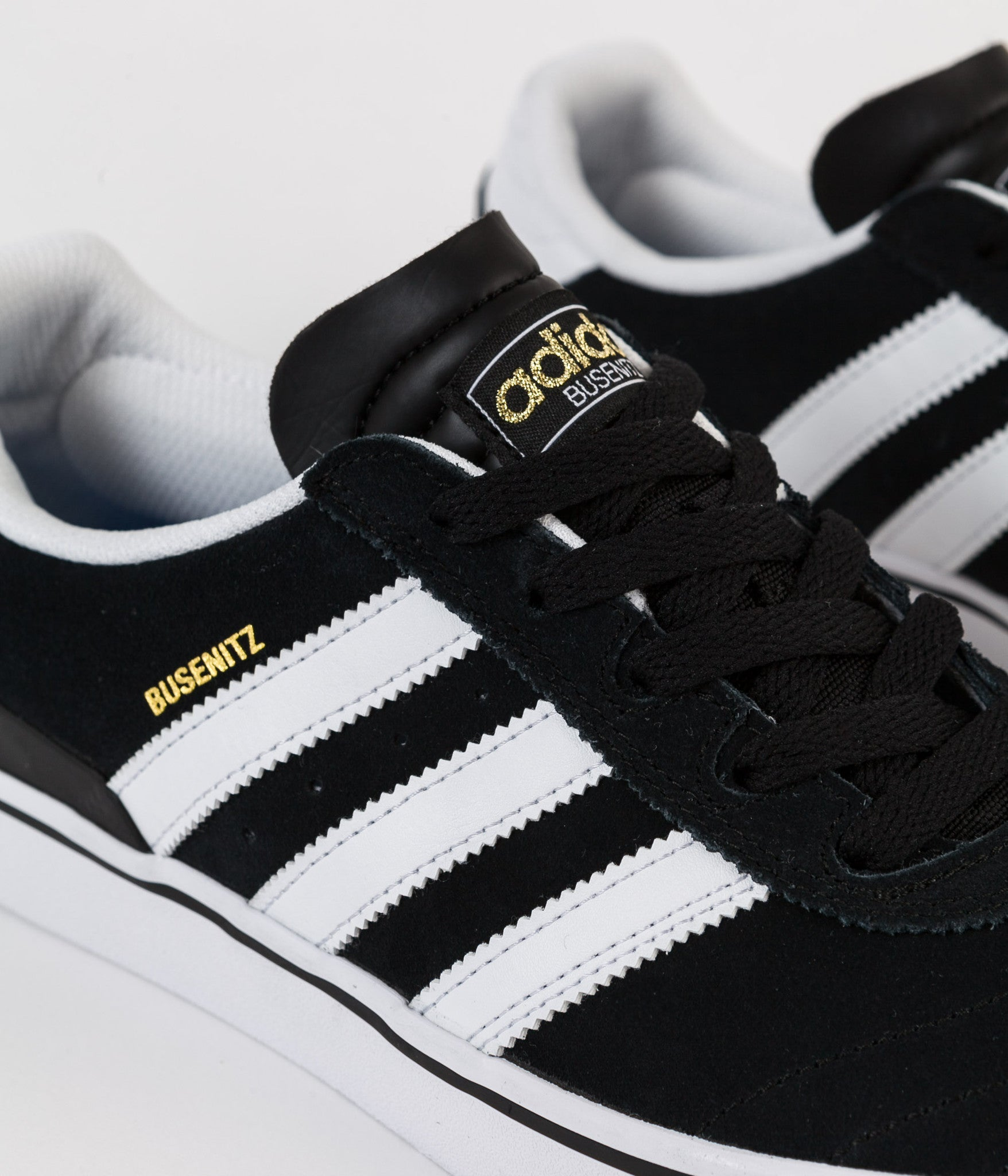 Adidas Busenitz Vulc Shoes - Black / Running White / Black