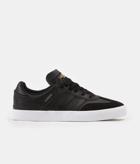Adidas Busenitz Vulc RX Shoes - Core Black / Core Black / White
