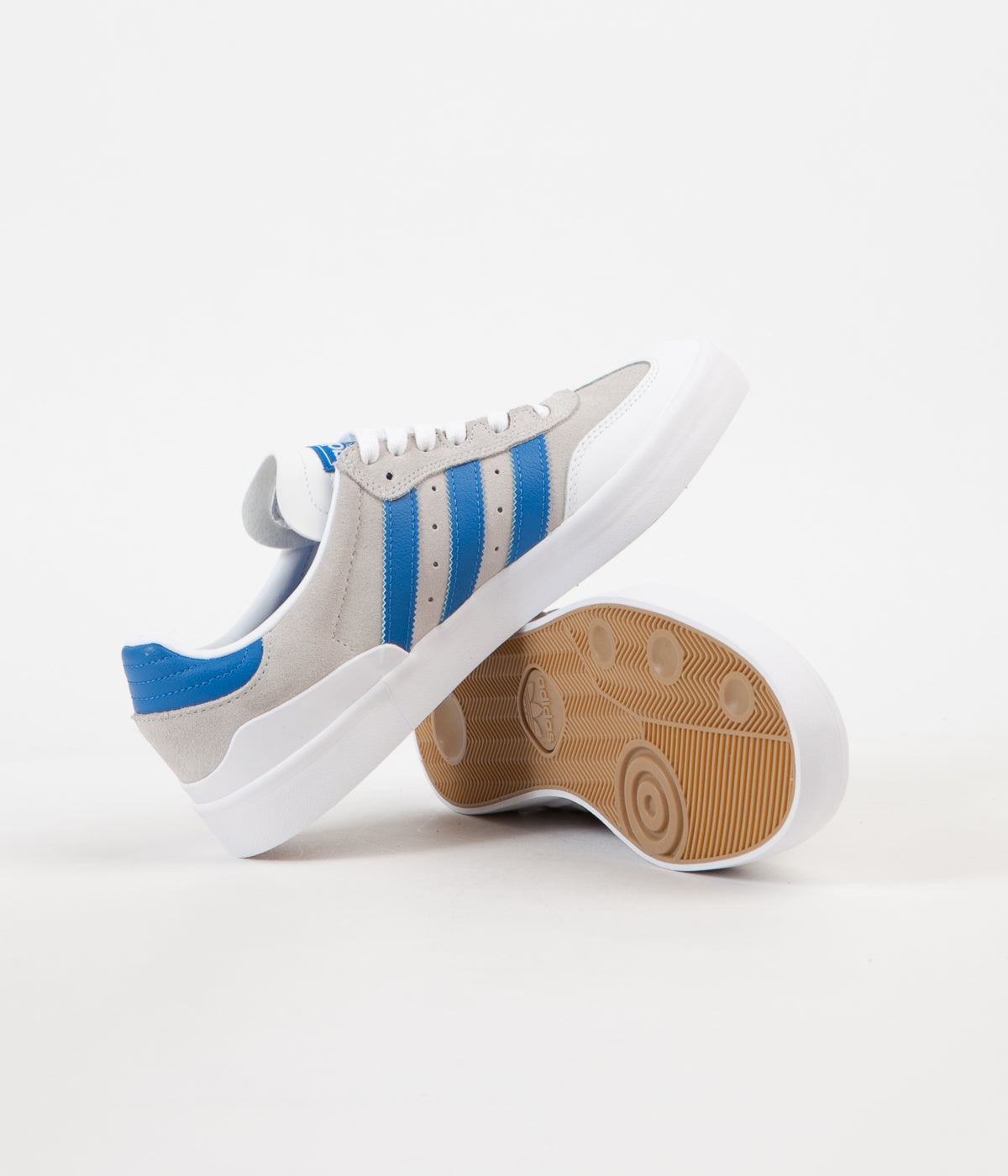Adidas Busenitz Vulc RX Shoes - Crystal White / Bluebird / White