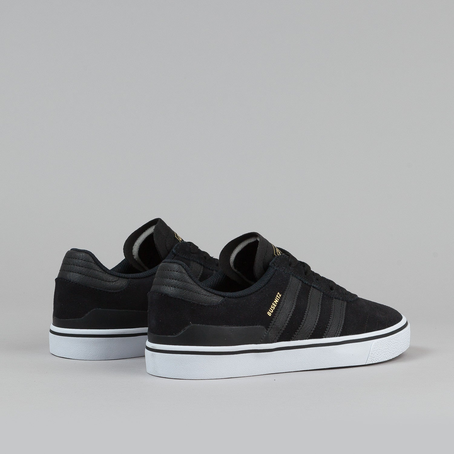 Adidas Busenitz Vulc Shoes - Black / Black / White