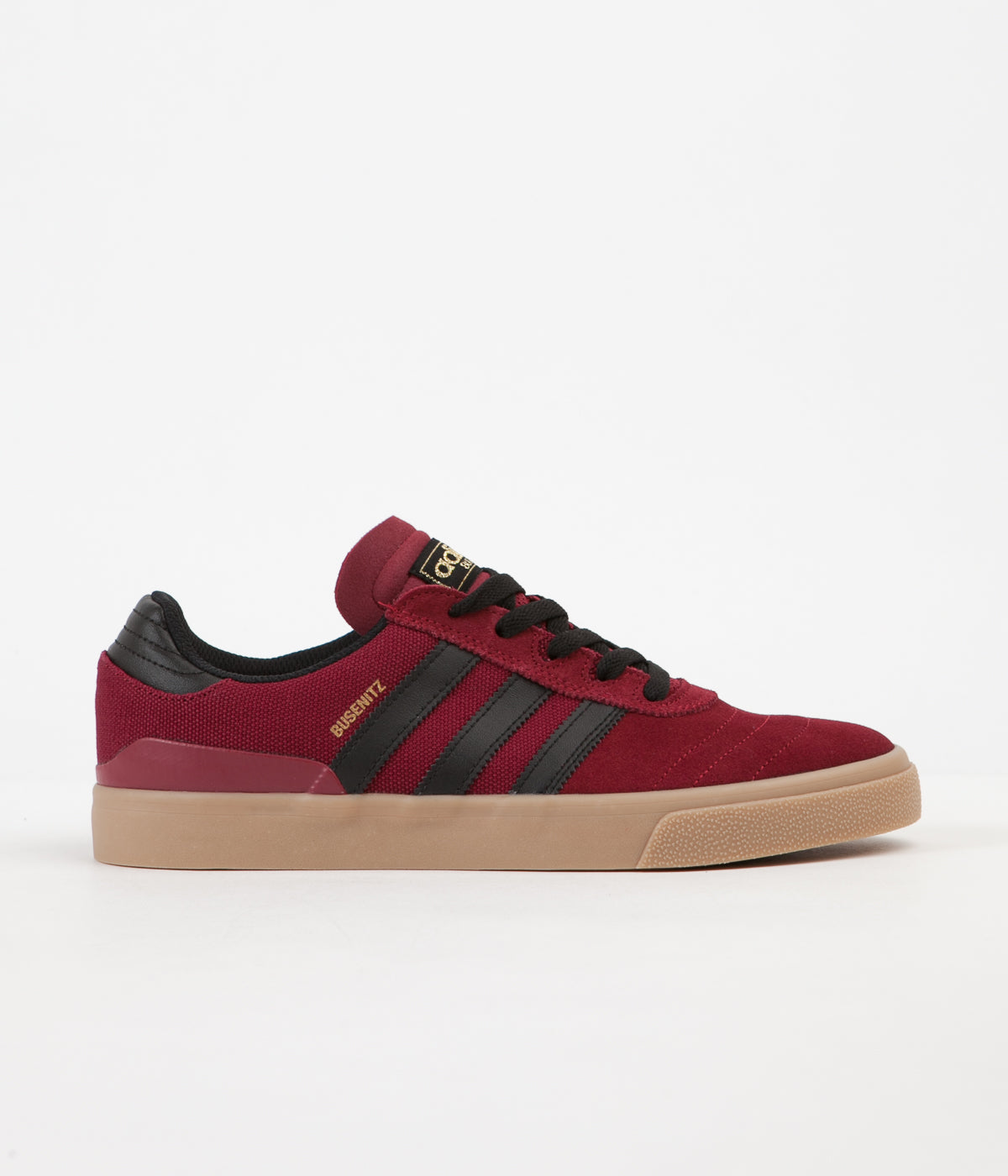 Adidas Busenitz Vulc Shoes - Collegiate Burgundy / Core Black / Gum