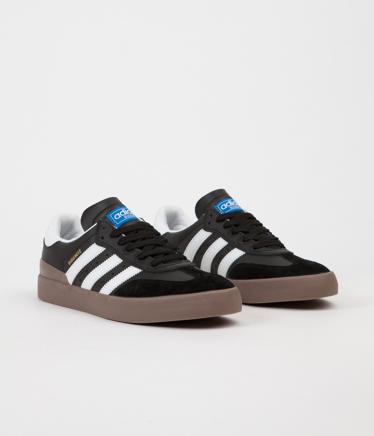 aca97aa1175 ... Adidas Busenitz Vulc RX Shoes - Core Black   White   Gum5 ...