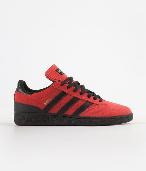 Adidas Busenitz x Rodrigo Shoes - Scarlet / Core Black / Gold