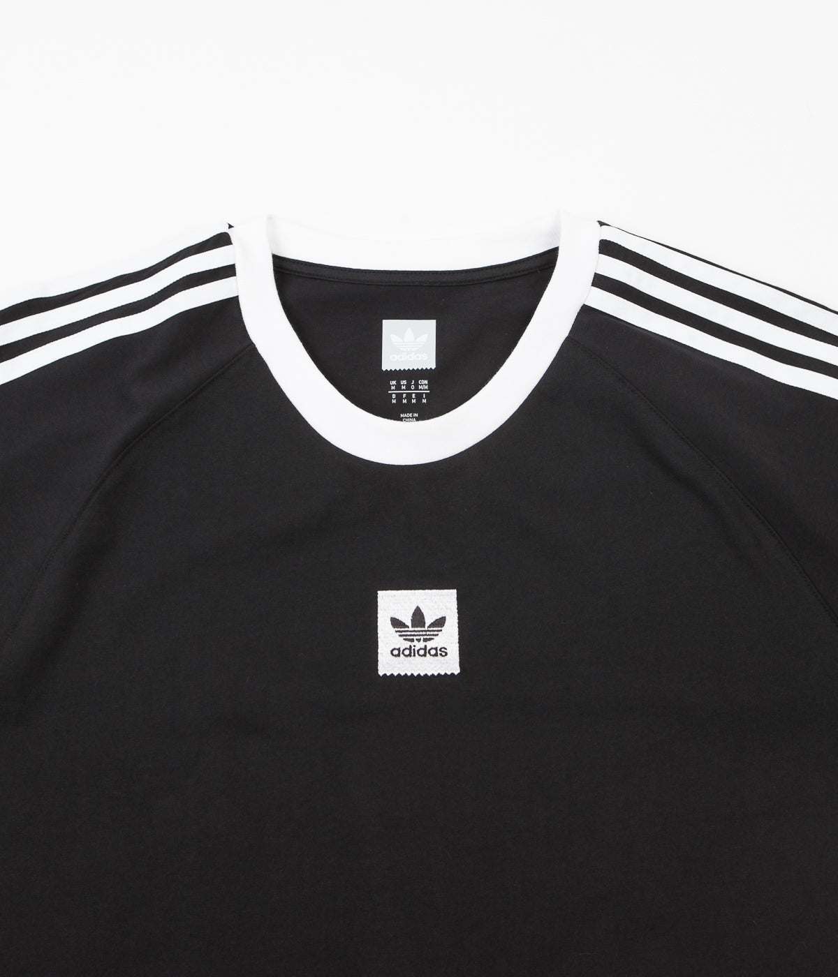 adidas shirt black and white