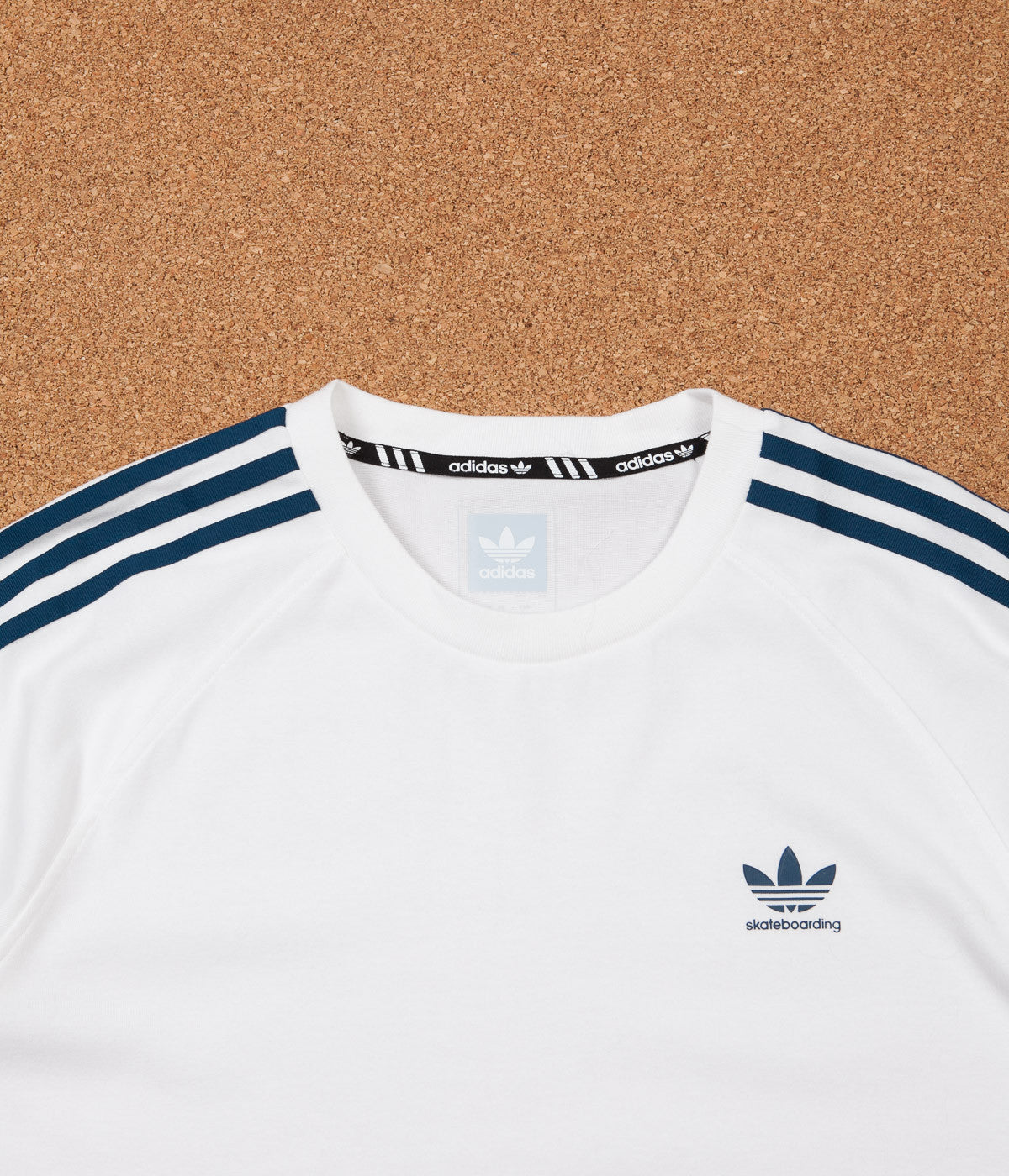 Adidas California 2.0 T-Shirt - White / Blue