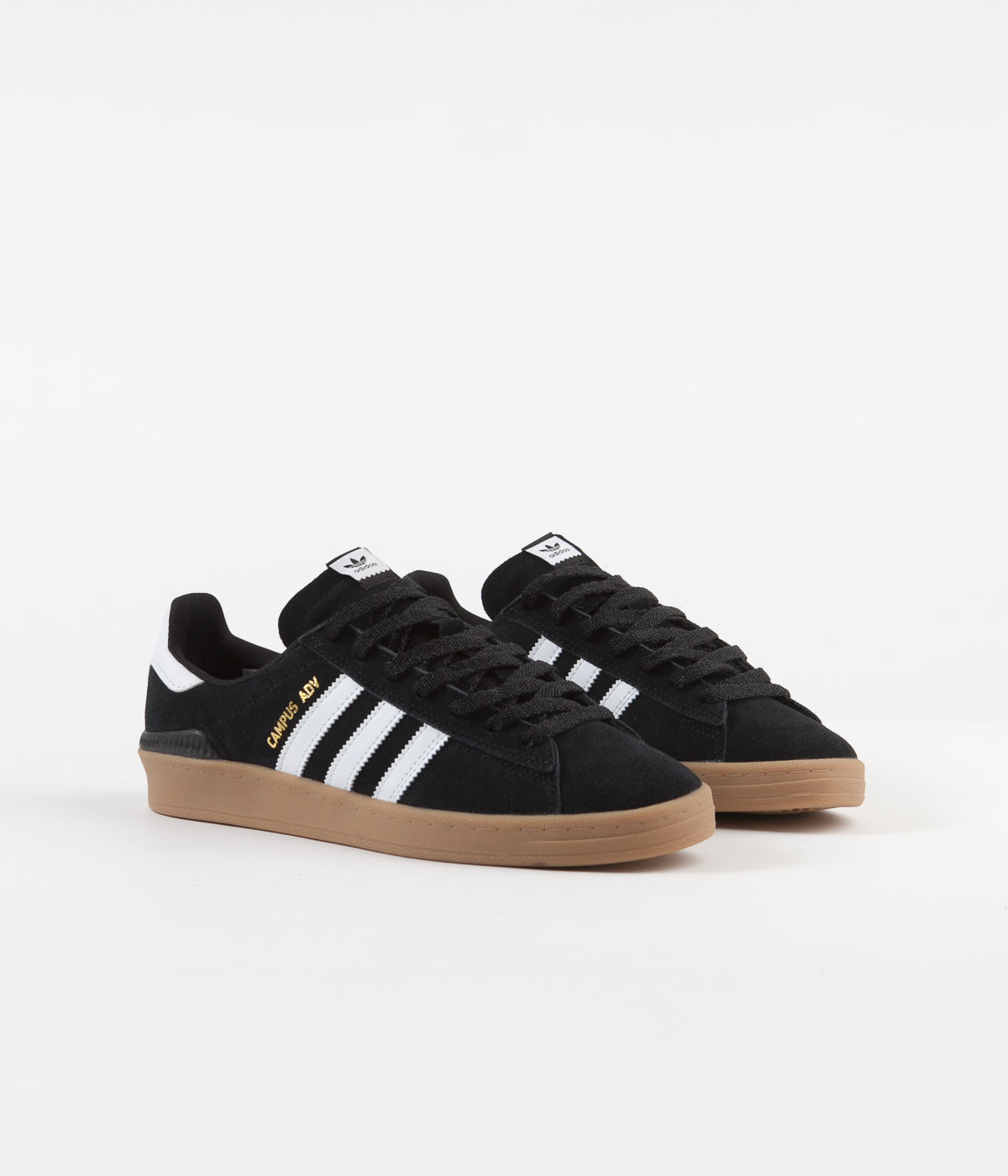 Adidas Campus Adv Shoes - Core Black / White / Gum4
