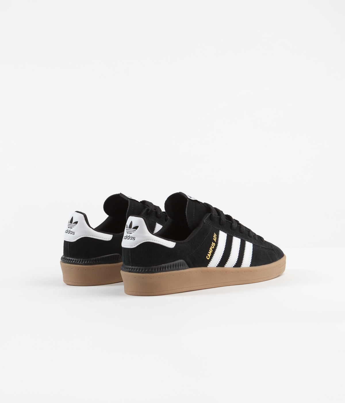 b1f55483a76ff Adidas Campus Adv Shoes - Core Black / White / Gum4 | Flatspot