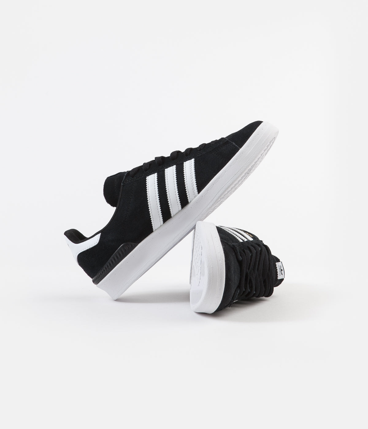Adidas Campus ADV Shoes - Core Black / White / White