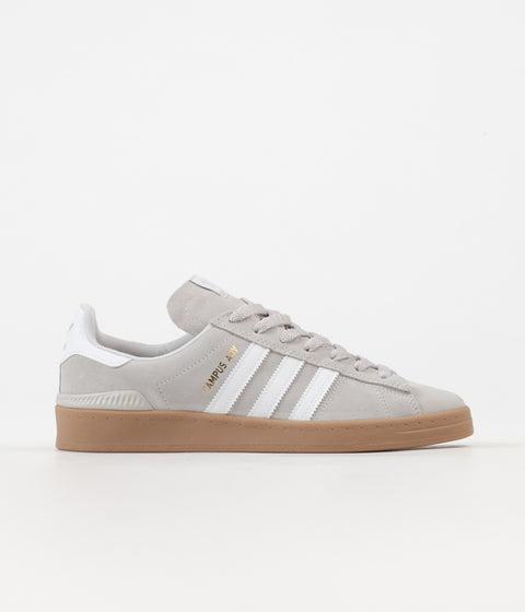 653ac357c3ba95 Adidas Campus ADV Shoes - Grey One   White   Gold Metallic