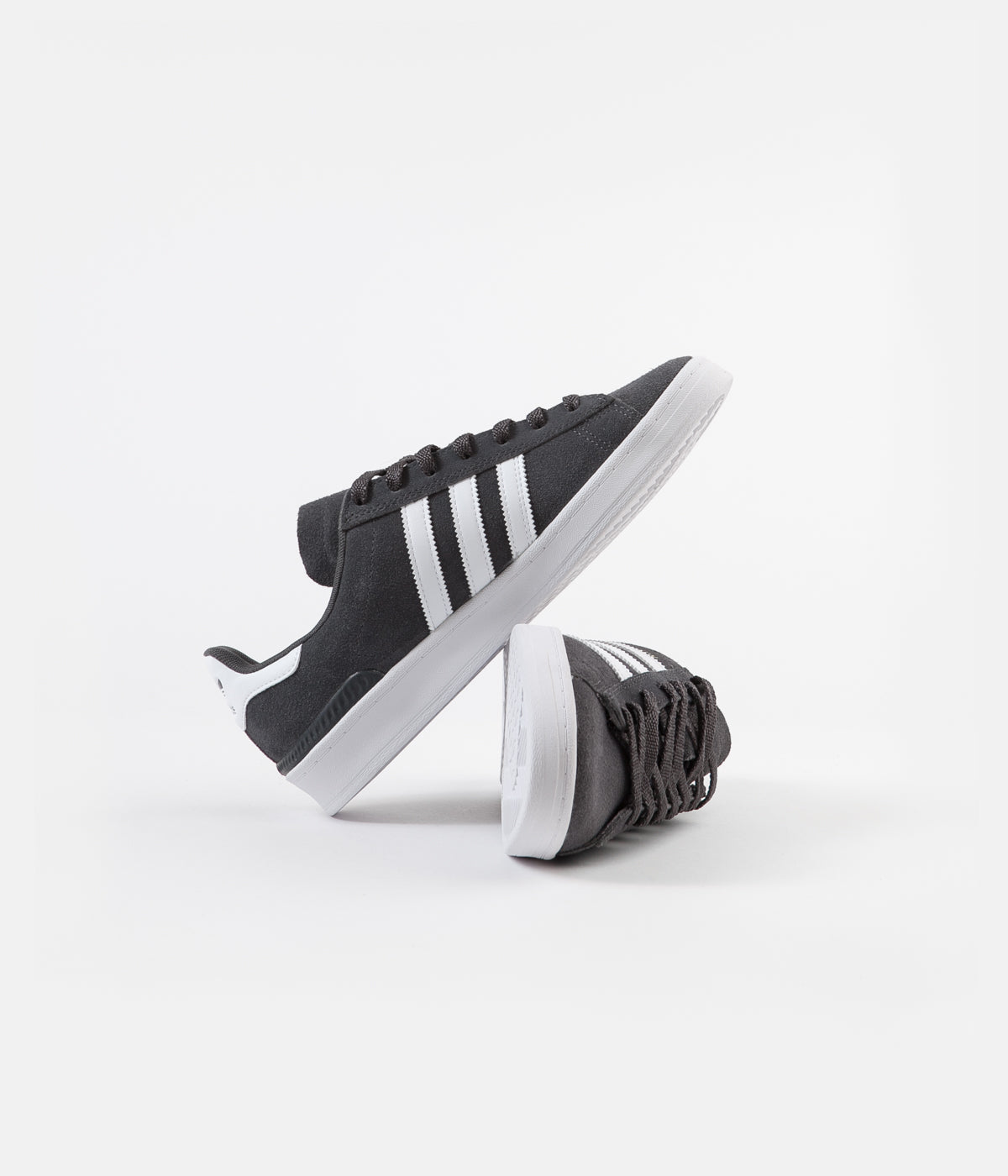 Adidas Campus ADV Shoes - Grey Six / White / Gold Metallic