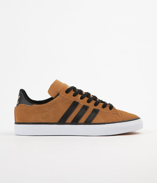 Adidas Campus Vulc 2.0 Shoes - Mesa / Core Black / FTW White