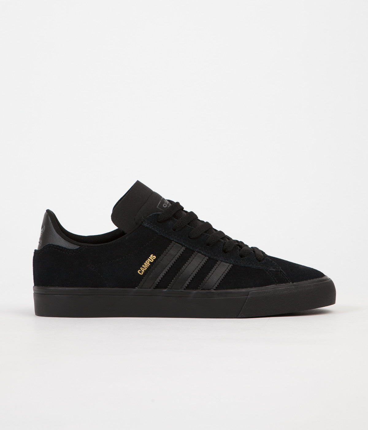 32d52017921 ... Adidas Campus Vulc II Shoes - Core Black   Core Black   Core Black ...