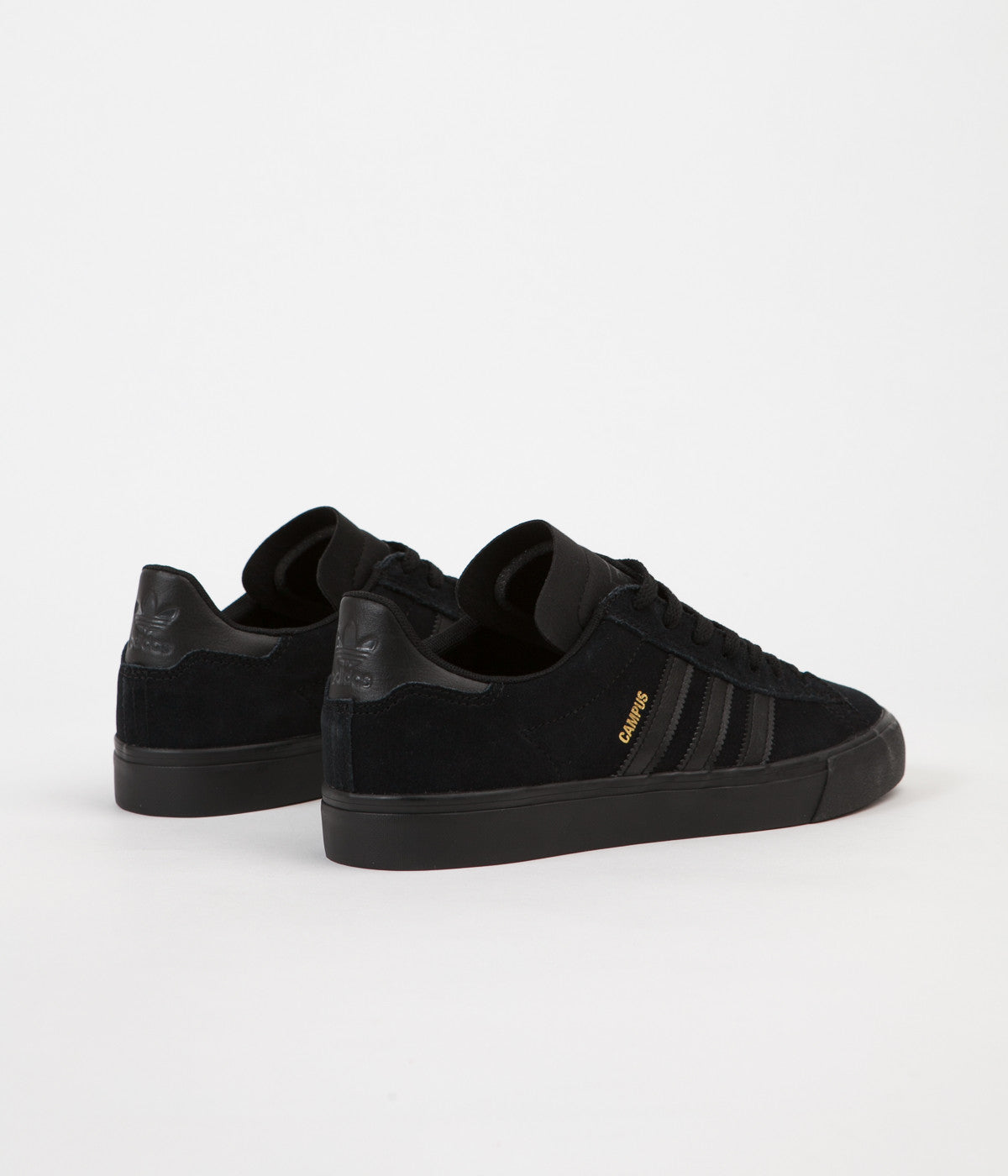 5c254505e7bfbe ... Adidas Campus Vulc II Shoes - Core Black   Core Black   Core Black ...