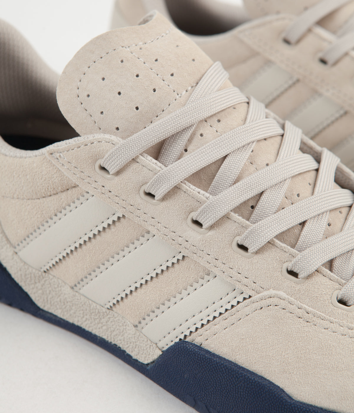 Adidas City Cup Shoes - Clear Brown / Dark Blue / Clear Brown