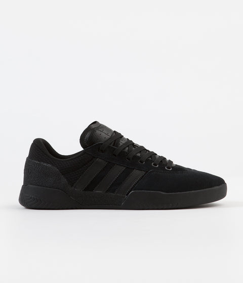 Adidas City Cup Shoes - Core Black / Core Black / Core Black