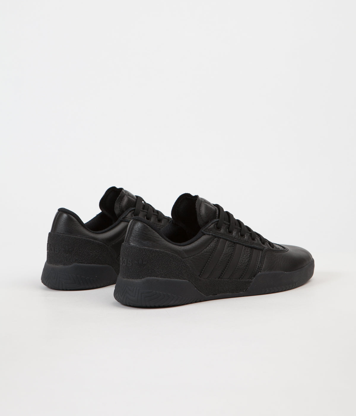 Adidas City Cup Shoes - Core Black / Core Black / Gold Metallic