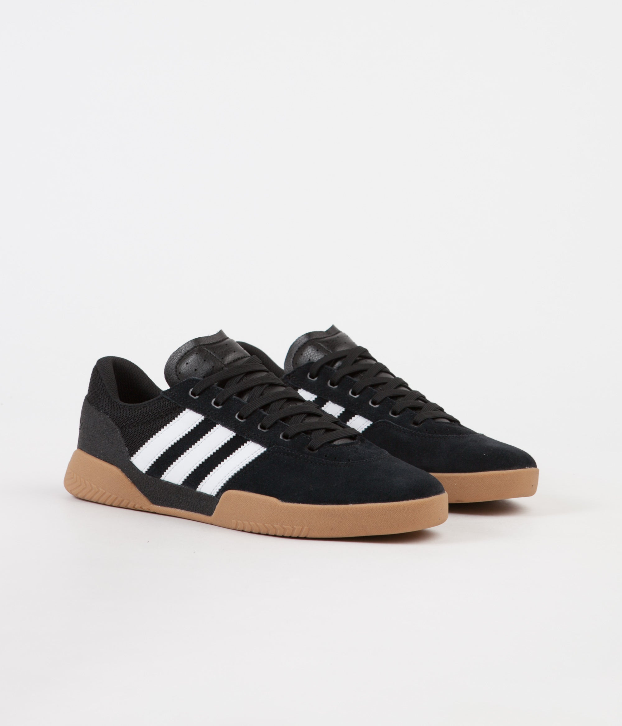 Adidas City Cup Shoes - Core Black / FTW White / Gum4