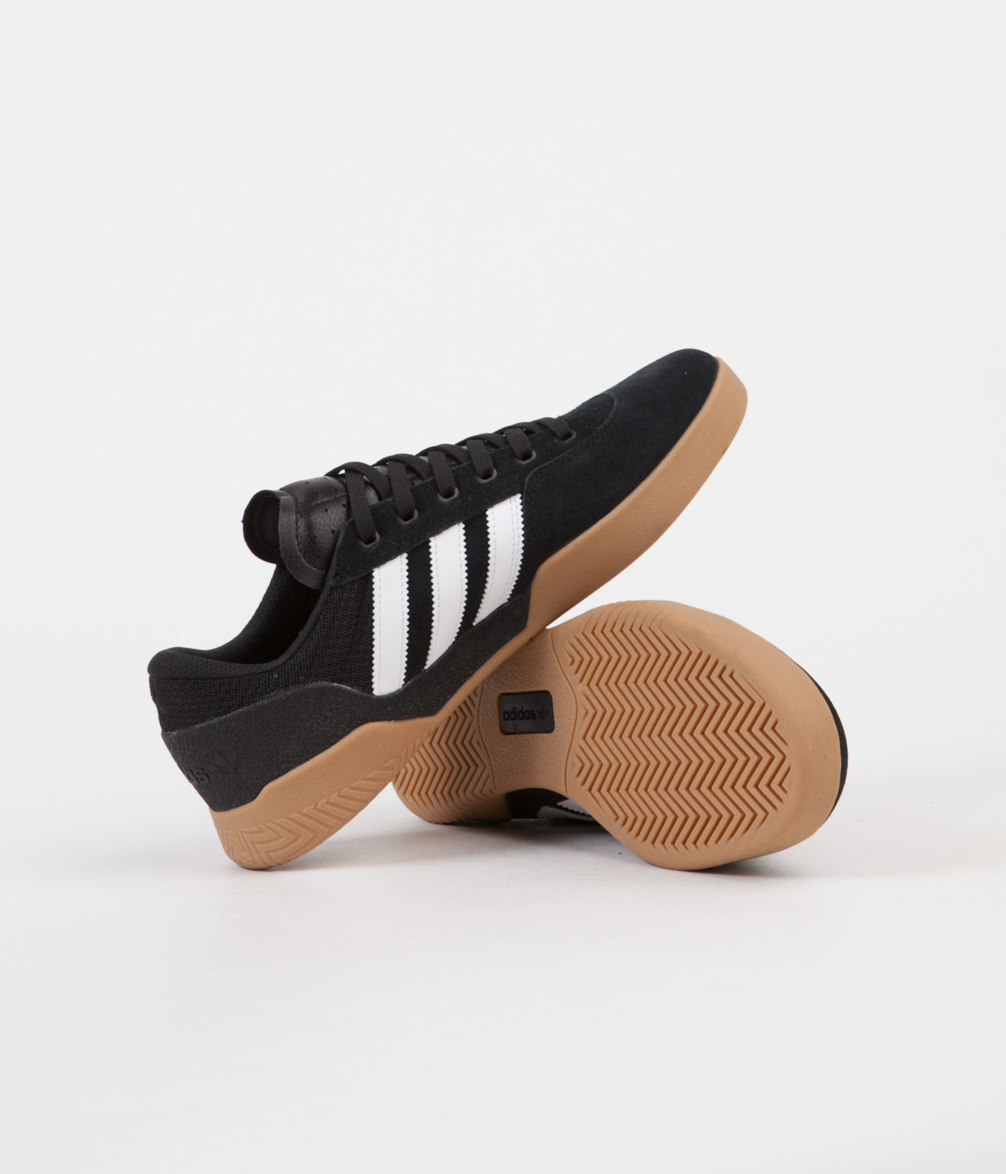 adidas City Cup Shoes Core Black FTWR White Gum4 from