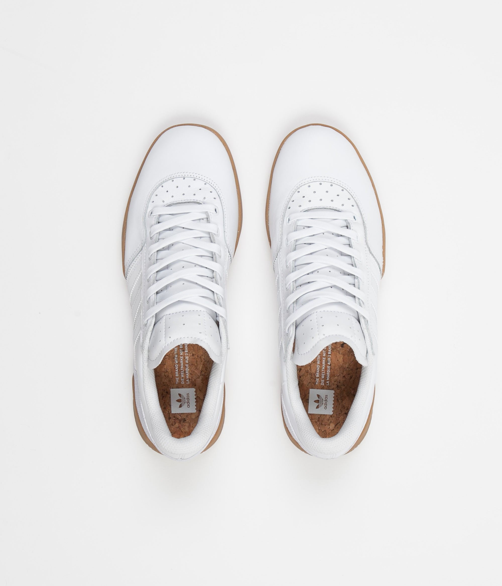 Adidas City Cup Shoes - FTW White / FTW White / Gum4