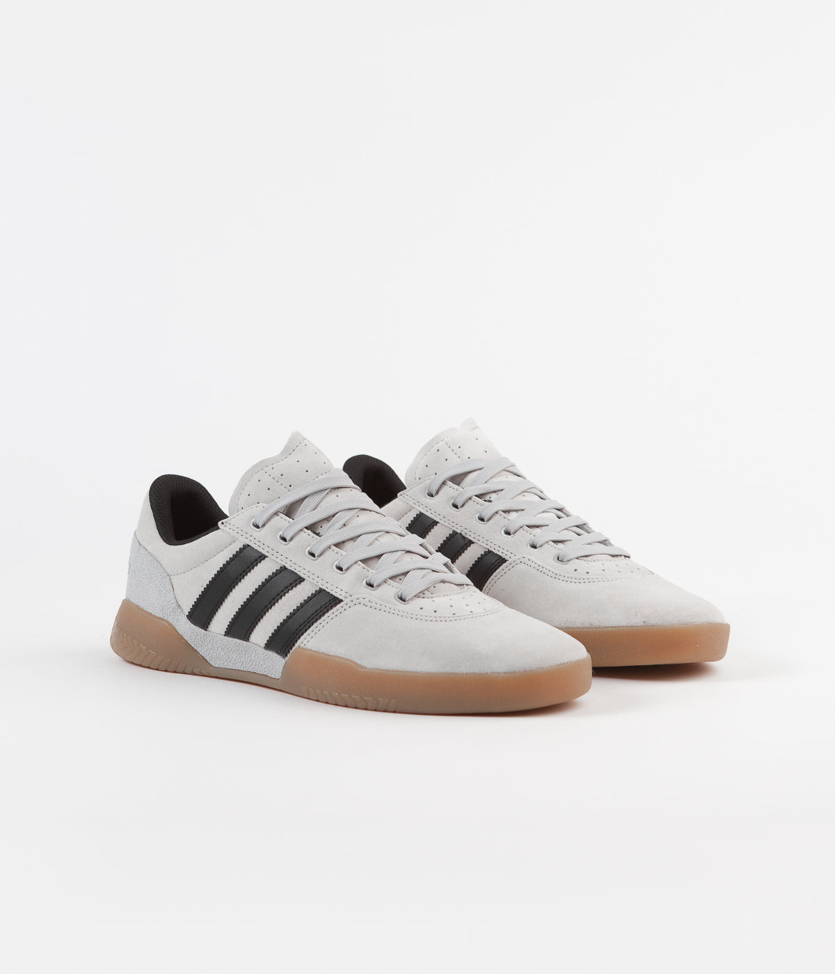 Adidas City Cup Shoes - Grey Two / Core Black / Gum4