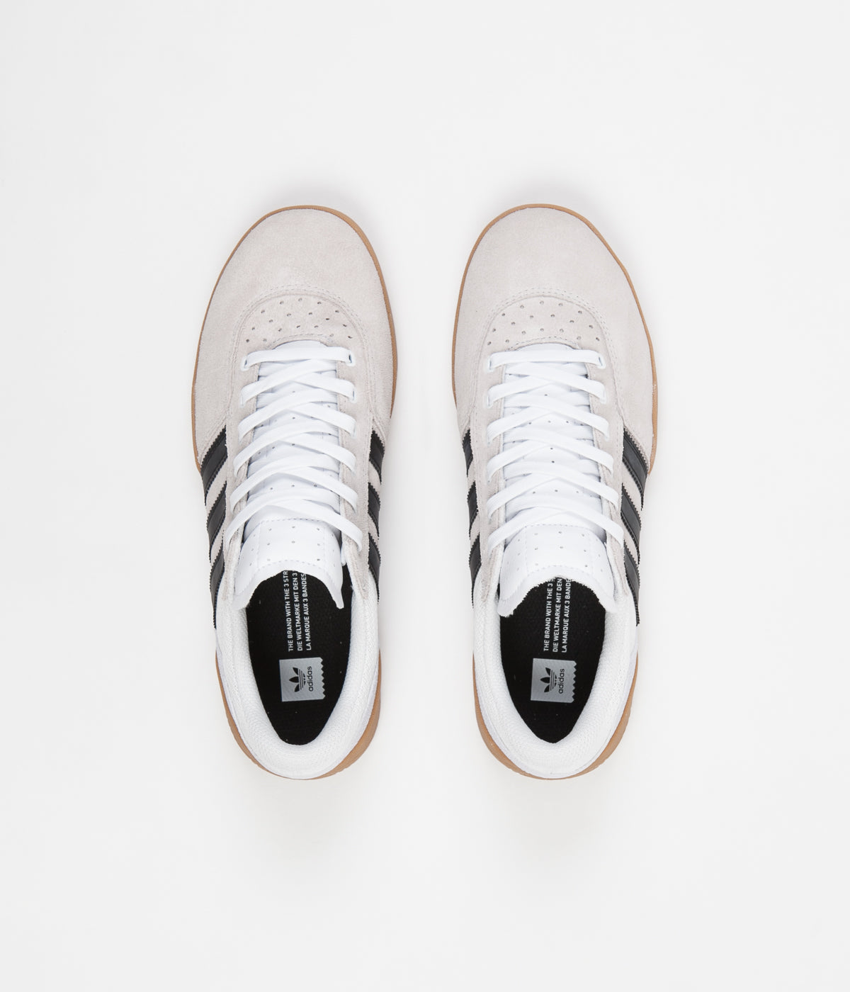 Adidas City Cup Shoes - White / Core Black / Gum4