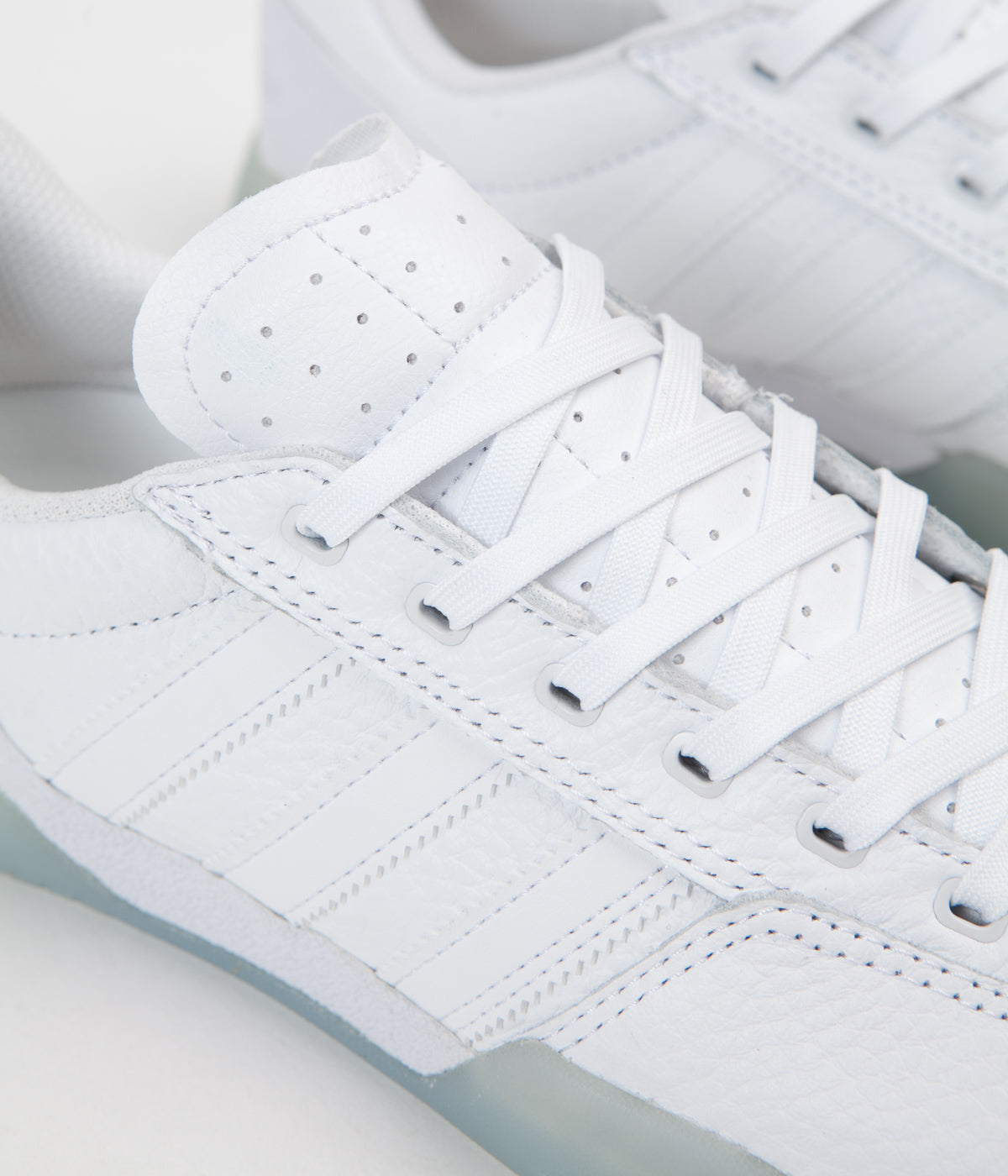 Adidas City Cup Shoes - White / White / Gold Metallic