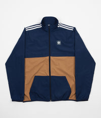 Adidas Class Action Jacket - Collegiate Navy / Raw Desert / White