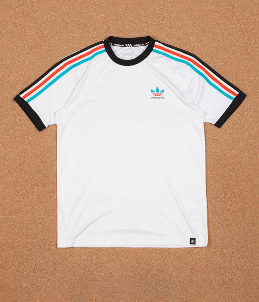 Adidas Clima Club Jersey - White / Energy Blue / Energy / Black
