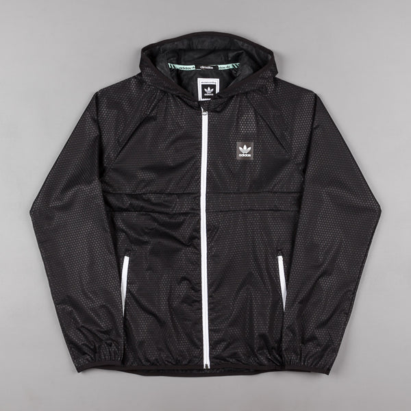 Adidas ClimaStorm Windbreaker Jacket - Black