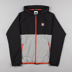 Adidas Aerotech Windbreaker - Black Metallic / Black / Core Heather