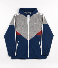 Adidas Colorado Nautical Jacket - Mystery Blue / Mystery Red / Solid Grey / White