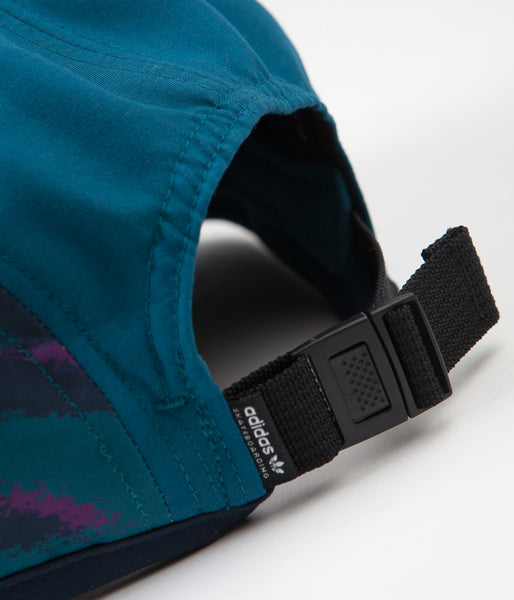 330a49f6206 Adidas Court 5 Panel Cap - Real Teal