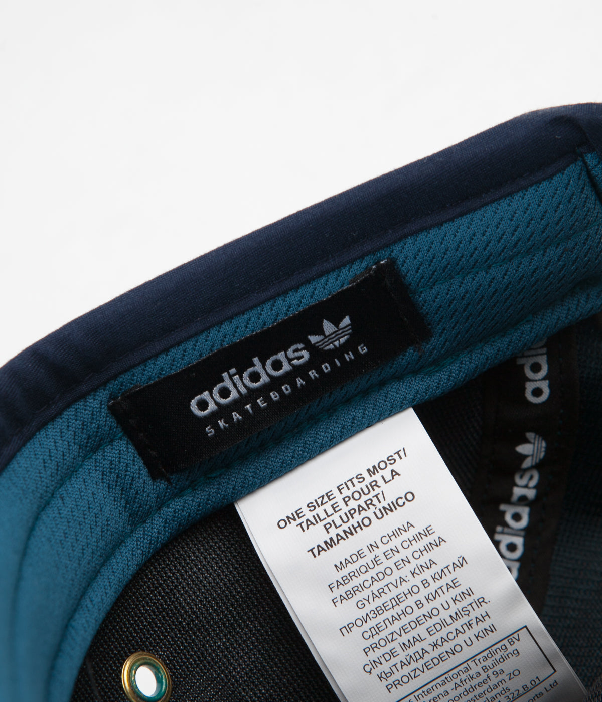 0456dbc91ce Adidas Court 5 Panel Cap - Real Teal ...