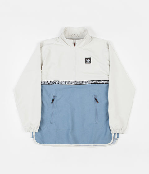 Adidas Dakari Windbreaker Jacket - Raw White / Raw Grey